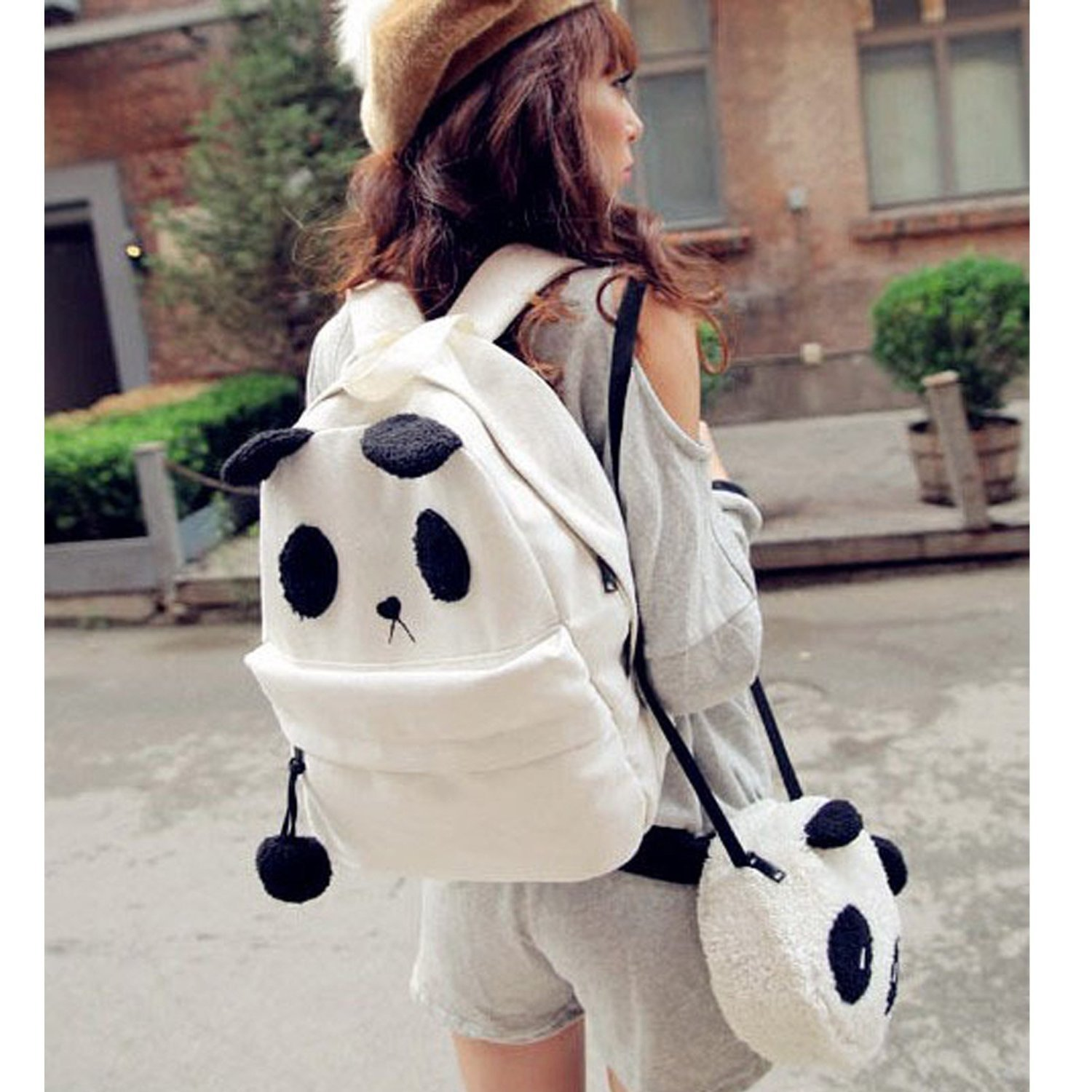 Korean Panda Backpack
