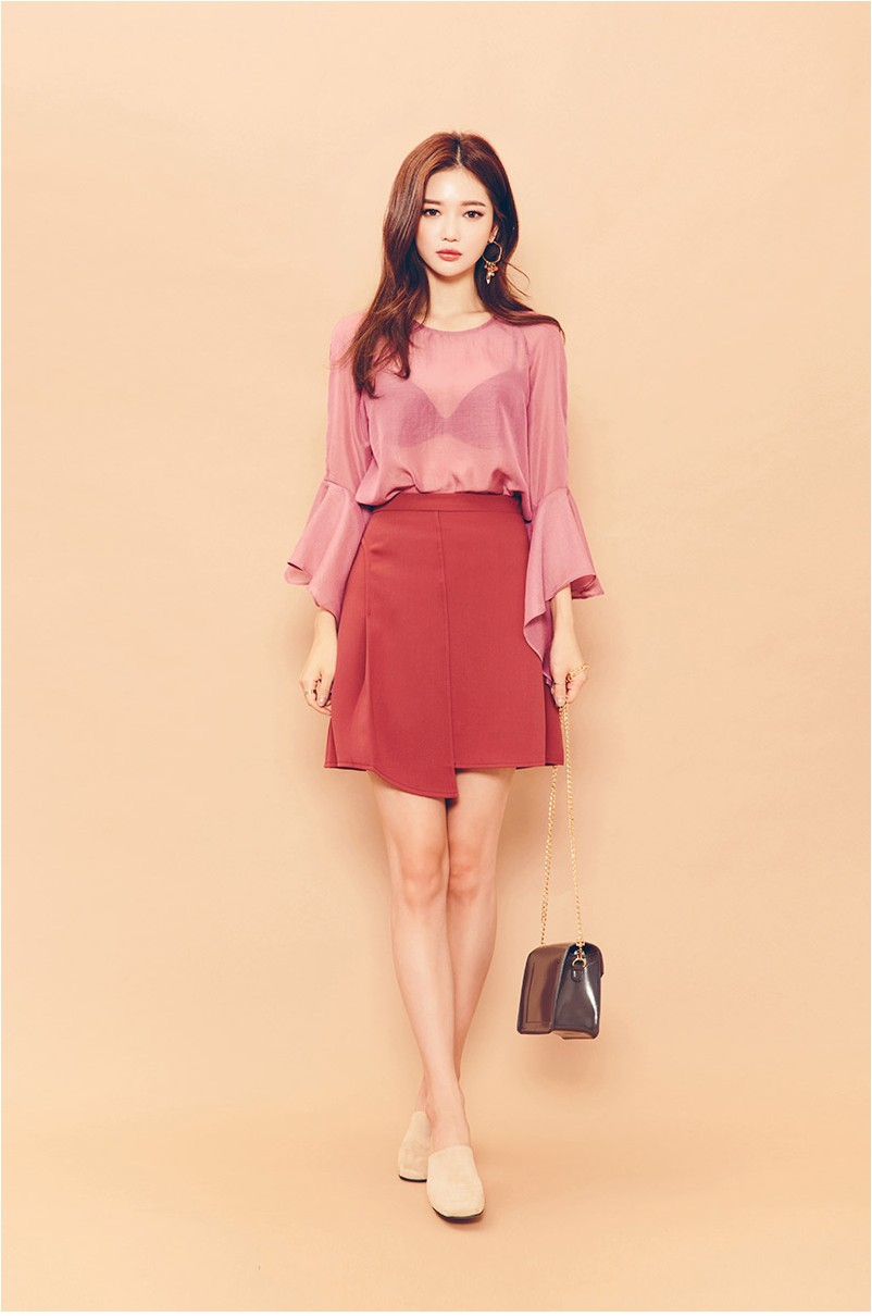 Bluming Lily Skirt by Chuu
