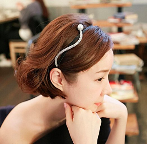 <center>Rhinestone Headband</center>